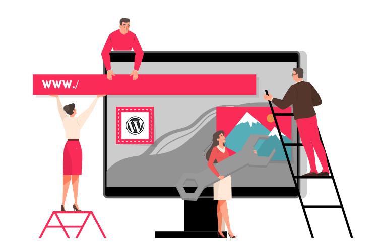 Webbutveckling, WordPress.